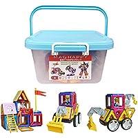 マグハッピー 磁気おもちゃ スペシャルボーイズセット 151ピース 知育玩具 日本製収納ケース付 磁石付き積み木 MAGHAPPY (151ピース)