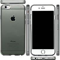 mtmd.jp iphone 6s & iPhone 6 対応 衝撃吸収 ハード シリコン ケース カバー 6 s (つるつるタイプスモーク)