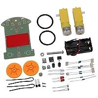 SONONIA DIY キット インテリジェント D2-1 パトロール トラッキング スマート カー パーツ 電子 スイート