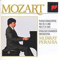 Mozart;Piano Concs. 20 & 27