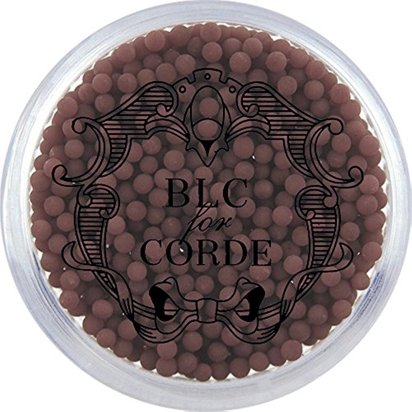 溶けた小道ラウズBLC FOR CORDE ガラスブリオン チョコブラウン 約1.5mm