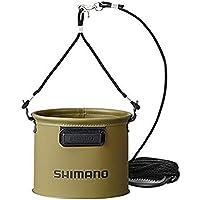 シマノ(SHIMANO) 釣り用バケツ・バッカン 水汲ミバッカン BK-053Q 17cc/19cm/21cm