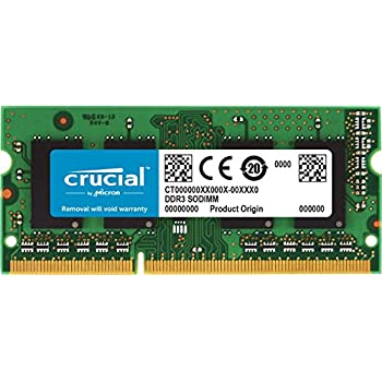 New Crucial 16GB DDR3-1866Mhz Sodimm PC3L-14900S 204pin 1.35V Laptop Memory Ram