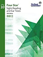 4S010 - Royal Conservatory Four Star Sight Reading and Ear Tests Level 10 Book 2015 Edition [並行輸入品]