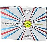 Callaway(キャロウェイ) ゴルフボール SUPERSOFT 15 1ダース 12個入り
