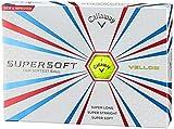 Callaway(キャロウェイ) ゴルフボール(1ダース12個入り) SUPERSOFT 2015年モデル 6419452120044 イエロー