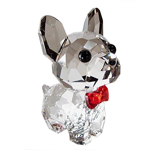 スワロフスキー SWAROVSKI クリスタル フィギュア Puppy Bruno(フレンチブルドッグ) 5213639 [並行輸入品]