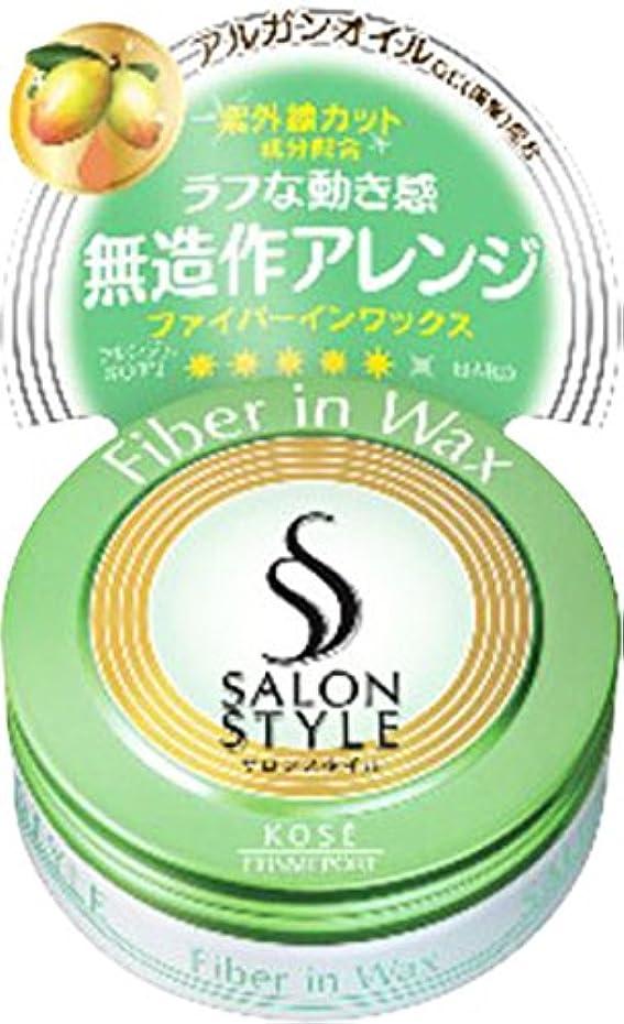 宣伝グリップ落ち着くKOSE コーセー SALON STYLE(サロンスタイル) ヘアワックスB ファイバーイン ミニ 22g