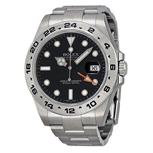 Rolex(ロレックス) Explorer II Black Automatic Steel Men's Watch エクスプ ローラー II 黒自動鋼メンズ腕時計腕時計 [並行輸入品]