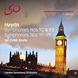 Haydn: Symphonies Nos.92, 93, 97, 98 & 99 by London Symphony Orchestra (2014-08-12)