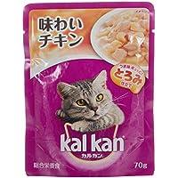 カルカン パウチ 成猫用 1歳から 味わいチキン 70g×160袋 (ケース販売) [キャットフード]
