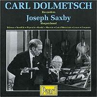 Carl Dolmetsch Recorders Joseph Saxby Harpsichord by C. Dolmetsch (2007-02-27)