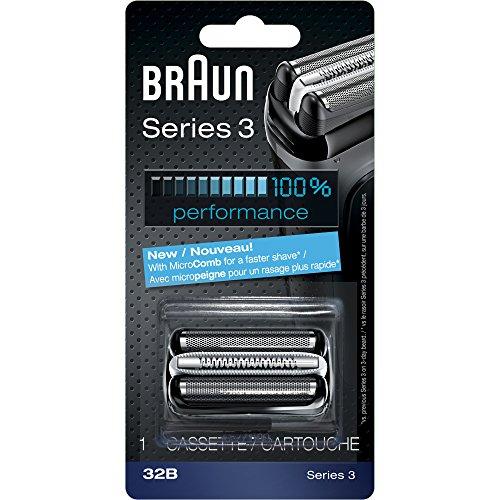 ブラウン ブラウン シェーバー シリーズ3網刃・内刃一体型カセット32B F/C32B-6と同等品 並行輸入品