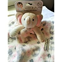 Blankets and Beyond Baby Plush Elephant Blanket Pink by Blankets and Beyond