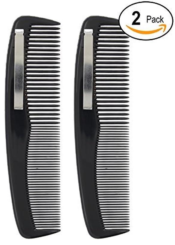 混合決済あらゆる種類の2 Black Pocket Comb - 5