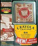 Crayola 64Ct Regularクレヨンand Tinセット