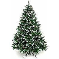 BRISIE クリスマスツリー 150cm ヌードツリー グリーン オリジナルツリー 松かさスノータイプ 組み立て式 北欧タイプ