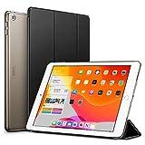 ESR iPad 10.2 ケース 第7世代 2019モデル クリア 薄型 軽量 傷防止 オートスリープ ウェイク 三つ折りスタンド スマートケース Apple iPad 10.2インチ 第7世代 2019用ハードカバー(ブラック)