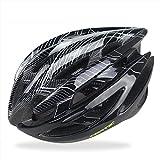 VINSOO アダルトサイクリングヘルメットは、エコフレンドリーなトリニティマウンテンバイクロードバイクヘルメットでメンズレディースの安全保護に特化