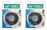 YONEX(ヨネックス) ウェットスーパーグリップテープ 5P ブラック2個セット AC102-5P-007-2SET