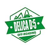 OFF ROADING DELICA D5 デリカD5 カッティング ステッカー グリーン 緑
