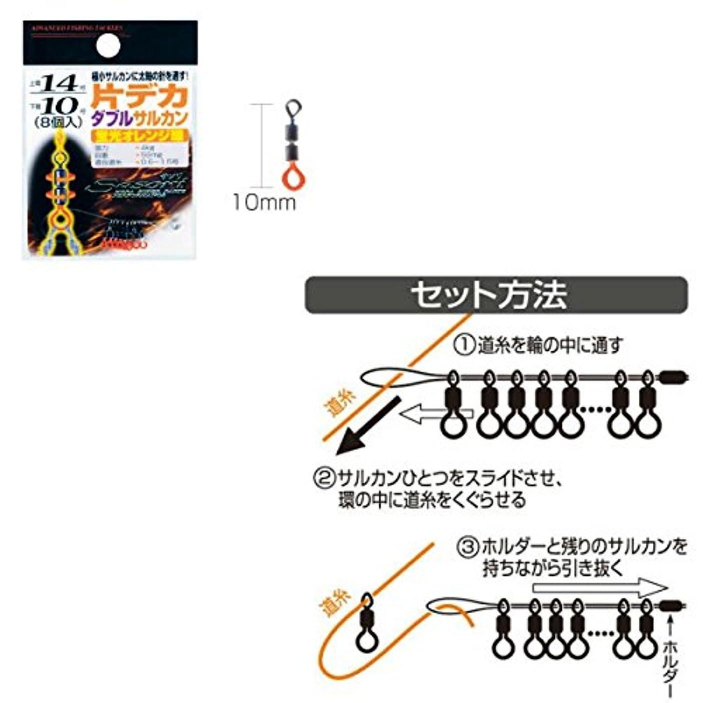 多用途肥満モットーLINE SYSTEM(ラインシステム) 片デカヘッドダブルサルカン見え塗装 KDD14M