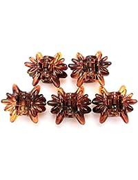 haclm800 (リトルムーン) バンスクリップ ミニクリップ(カラー) ヘアアクセサリー 髪飾り [正規品]