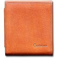 カルトラーレ ハンモックウォレット イタリアンレザー 薄くて小さいコンパクトな二つ折り財布