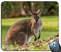 オーストラリアのワラビーはマウスパッドの長方形のマウスパッドの賭博のマウスマットをカスタマイズしました