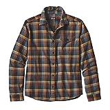 patagonia(パタゴニア) メンズ・ロングスリーブ・ライトウェイト・フィヨルド・フランネル・シャツ Ms L/S LW Fjord Flannel Shirt -sj 54020 NVTD M