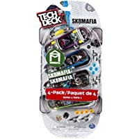 Tech Deck - 96mm Fingerboards - 4-Pack - Sk8mafia [並行輸入品]