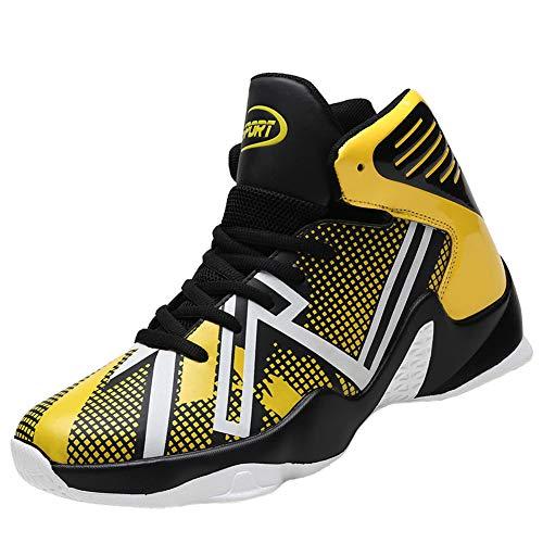 21eee8f63a6 バスケットシューズ ジュニア VITIKE Basketball Shoesライトウエイト  光 バスケットシューズ バッシュ 滑り止め  スポーツシューズ 耐久性のある スニーカー.