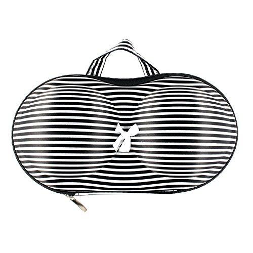 Gespout ランジェリーケース 下着収納ポーチ 下着収納バッグ ブラバッグ ブラジャー ランジェリー 下着 おしゃれ 収納バッグ 旅行 ポータブル ふた付き ブラ収納 衣類 便利グッズ 収納ボックス 可愛い