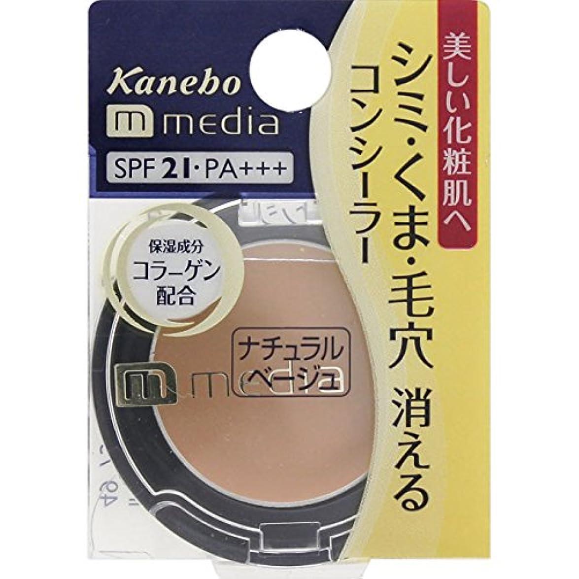あごひげ系統的溶けたメディア コンシーラーa<ナチュラルベージュ>