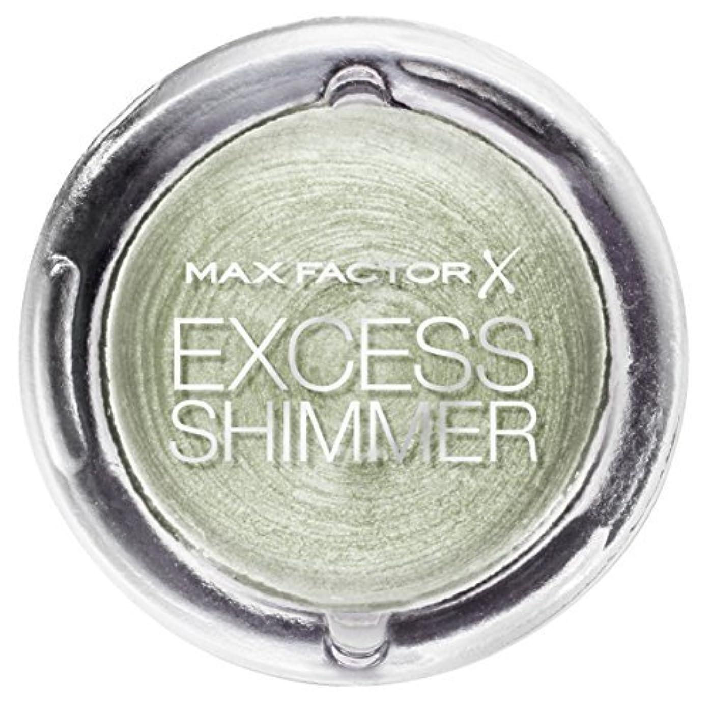 転倒ハッチ付けるMax Factor Excess Shimmer Eyeshadow in Pearl by Max Factor