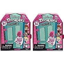 Doorables Disney Mini Peek Surprise 2 Pack Blind Box Collectible Figures