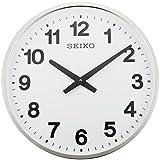 セイコー クロック 掛け時計 アナログ 屋外 防雨型 オフィスタイプ 金属枠 KH411S SEIKO