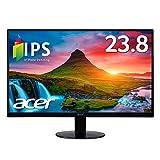 「Acer モニター SA240YAbmi 23.8インチ/IPS/非光沢/1920x1080/フルHD/16:9/250cd/4ms/ブラック/HDMI1.4/ミニD-Sub 15ピン」の画像