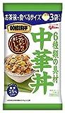 江崎グリコ DONBURI亭 お茶碗で食べるサイズ3食パック中華丼 70g×3食 ×6個