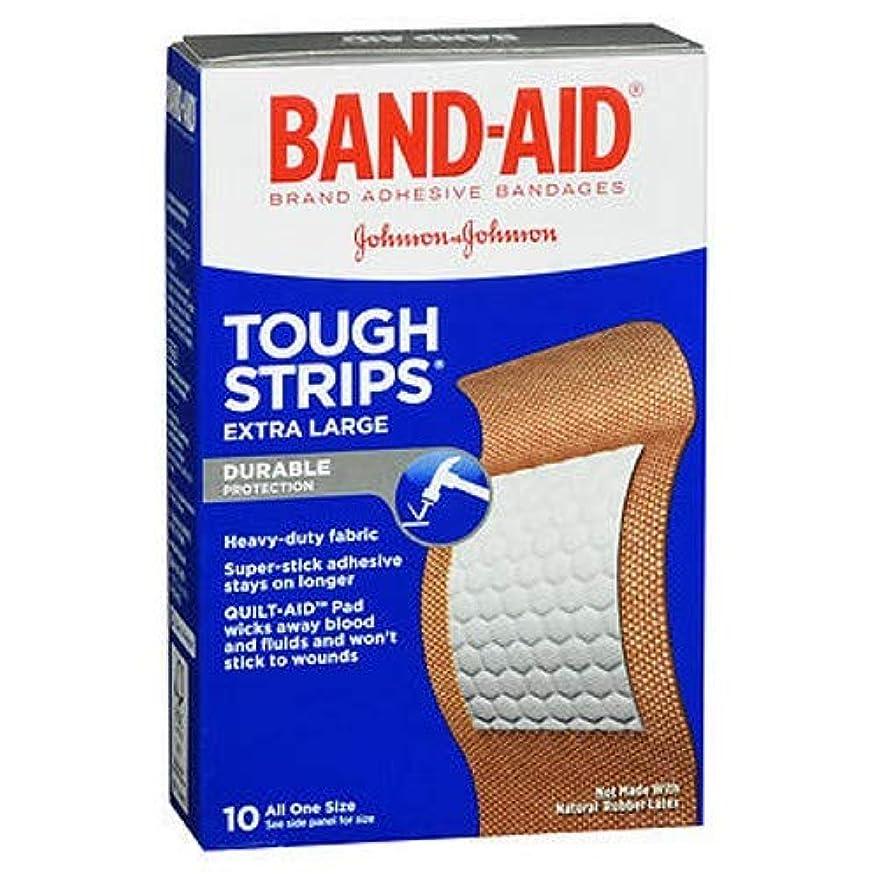 離れたお嬢野球Band-Aid タフ?ストリップ包帯、特大10 Eaは(3パック)