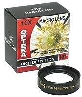 Opteka 10x hd2Professionalマクロレンズfor Canon PowerShot a650isデジタルカメラ