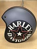 ハーレー【Harley-Davidson】 ジェットヘルメット 98327-14VA000L 3/4 Redster Grey Lサイズ