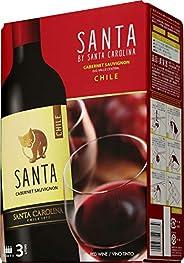 【チリの名門ワイナリーが作る、リッチな味わいのテーブルワイン】サンタ バイ サンタ カロリーナ カベルネ・ソーヴィニヨン バッグインボックス [ 赤ワイン ミディアムボディ チリ 3L ]