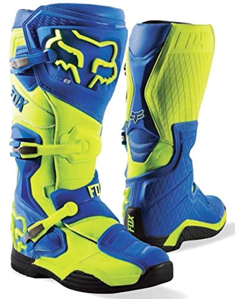 メロドラマナース変色するFOX(フォックス)ブーツ COMP8 BOOTS ブルー/イエロー 11 (27.5cm),-