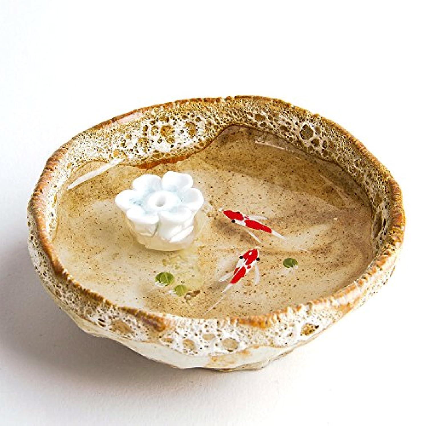 謙虚水差し焦がすお香立て お香たて 香の器 お香を焚いて 香皿,陶磁器、黄色