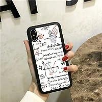 スマートフォンケース スマホケース iPhoneX iPhoneケース 携帯ケース ケース カバー シリカゲル 皮製 カップル 脱着簡単 保護 耐衝撃性 iphone6plus IPhone8ケース IPhone7ケース iPhone8plus/7plus iPhone6 iPhone6s (Color : White, Size : IPhoneX)