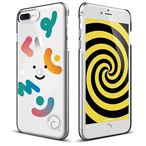 iPhone8 Plus / iPhone7 Plus ケース elago Smart Spinner [ iPhoneがスピナーに大変身 !? まるで ハンドスピナー !? ] おもしろ デザイン カバー [ iPhone8Plus / iPhone7Plus ] ユキ