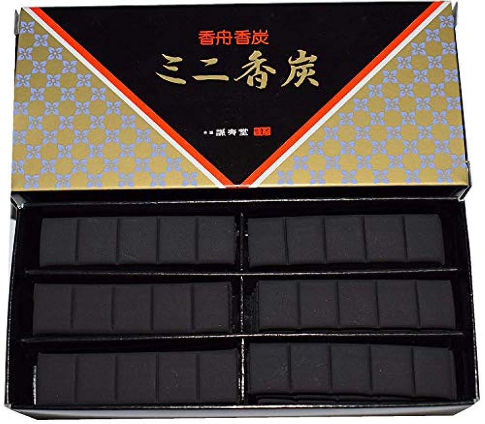 投げ捨てる巨大束香舗 誠寿堂ミニ香炉炭 (黒, 5)