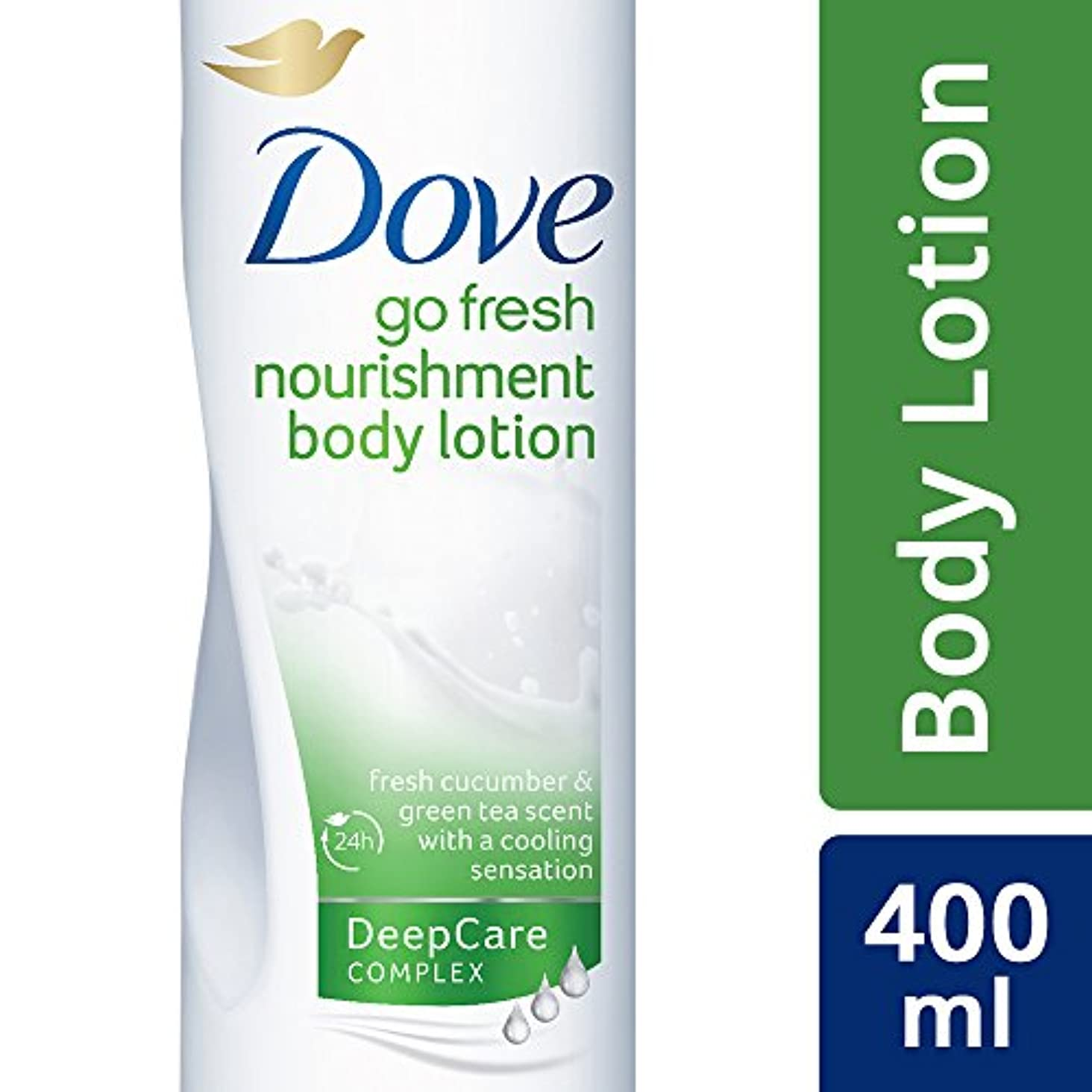 アクション初期モーテルDove Go Fresh Body Lotion, 400 ml