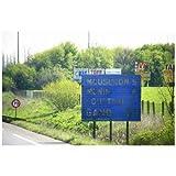 ポストカード ベルギー・アントワープ ベルギー国境(ドイツ側)-はがき絵葉書postcard-